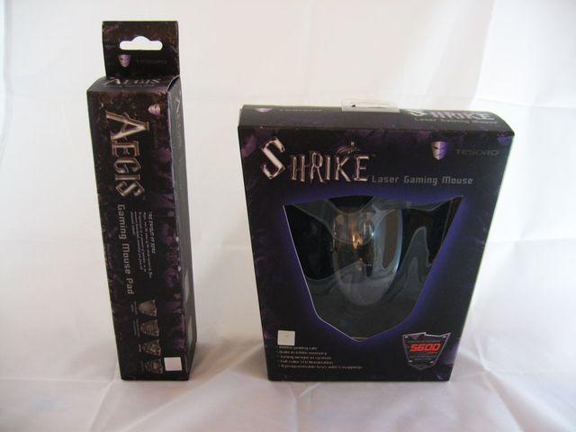 Test: Tesoro Shrike Laser-Gaming-Maus und Aegis X1 Mauspad