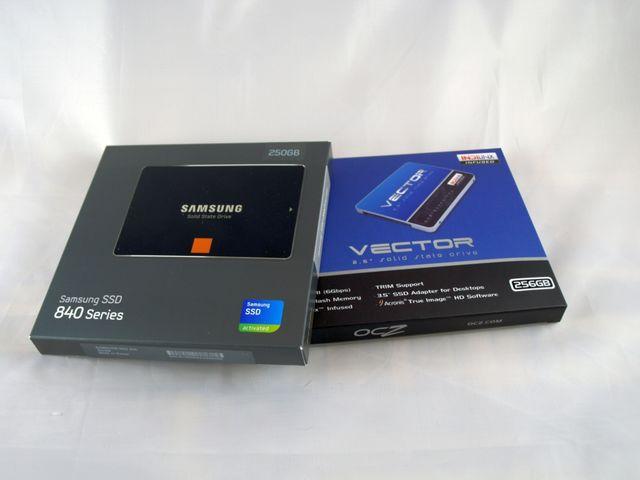 Kurztest: OCZ Vector 256GB und Samsung 840 250GB im direkten Vergleich