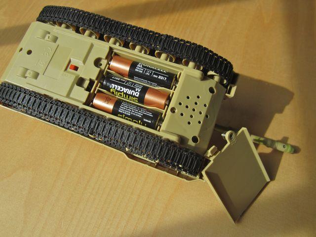 Batteriefach des i.onik Tank