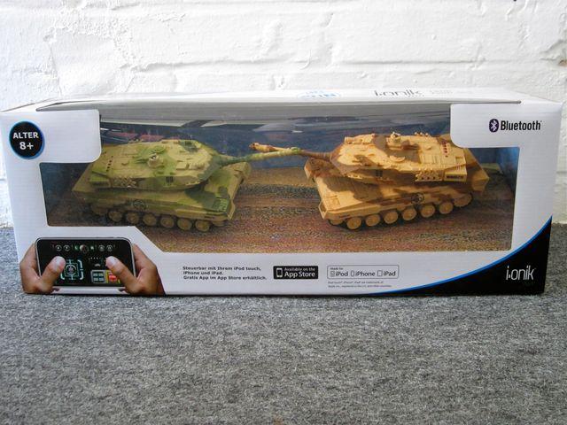 Verpackung des i.onik Tank Twin Sets
