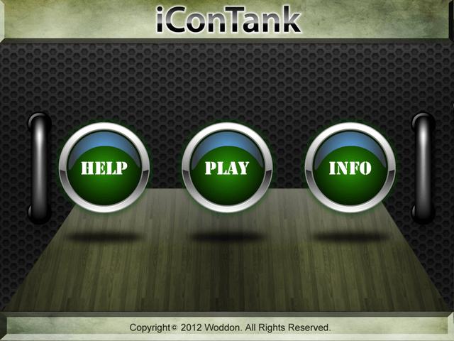 iConTank Menübildschirm