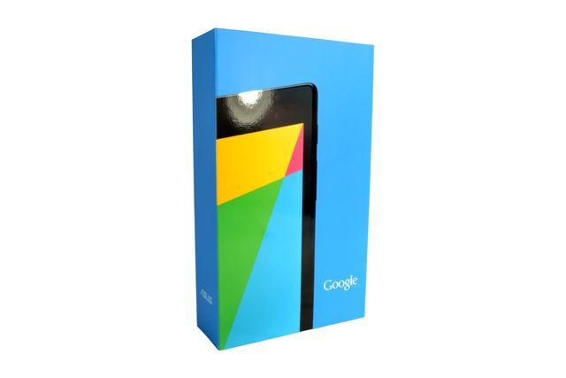 Asus Nexus 7 Verpackung 1