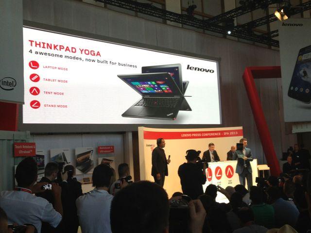 Lenovo zeigt neue Geräte auf der IFA