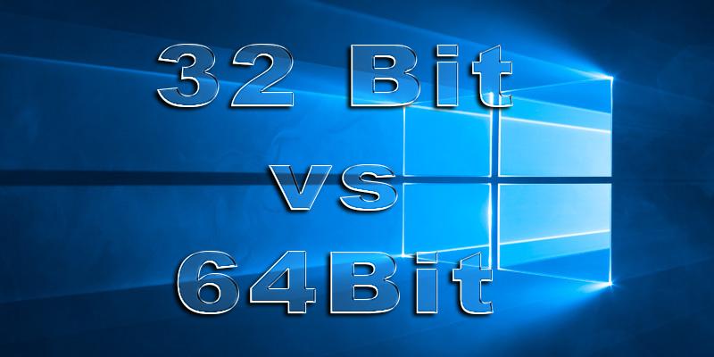 32 Bit vs  64 Bit: Wo ist der Unterschied?