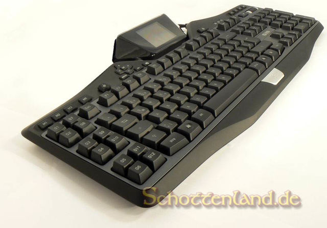 Logitech G19 Gaming Keyboard im Test