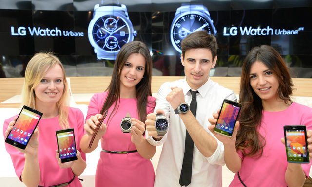 Die neuen Flaggschiffe des MWC 2015: Samsung S6 (Edge), HTC One (M9) und das LG G Flex 2