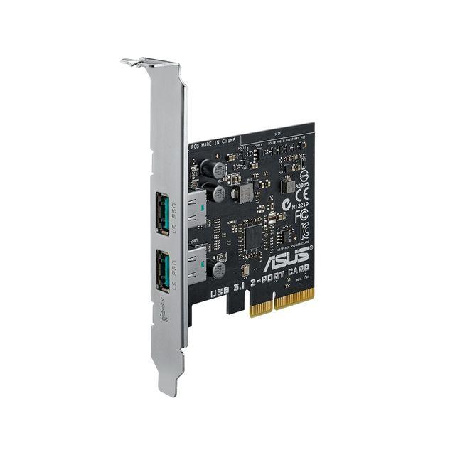 Asus: Erste USB-3.1-Erweiterungskarten für PCIe
