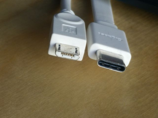 USB Type C Anschluss