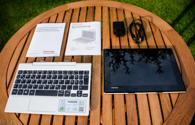 Toshiba Satellite Click Mini Lieferumfang