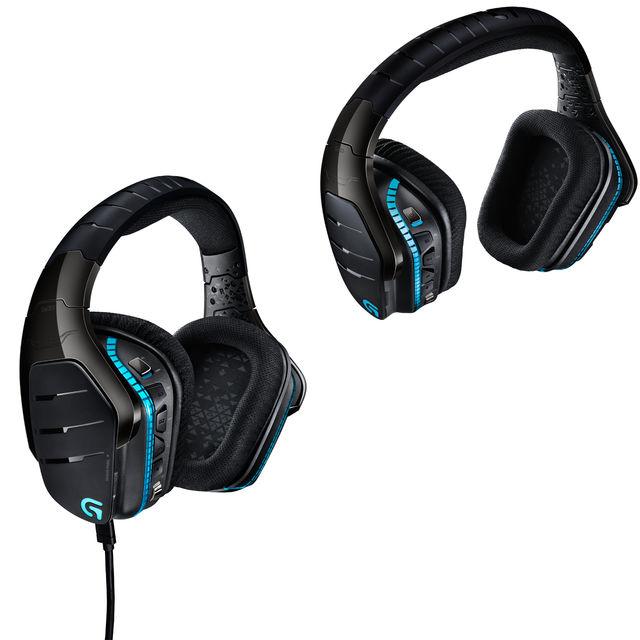 Gaming-Headsets von Logitech: G633 und G933