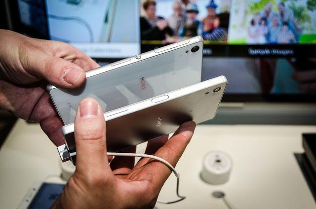 Sony Xperia Z5 auf der IFA 2015 Pic1