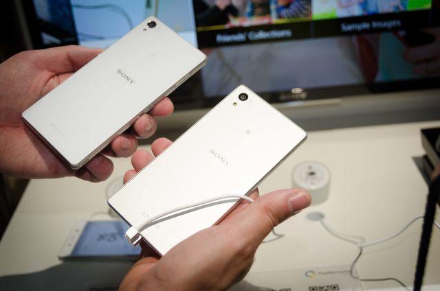 Sony Xperia Z5 auf der IFA 2015 Pic2