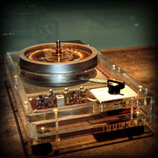 Technics Plattenspieler Prototyp Motor