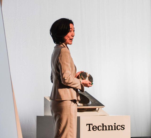 Technics Pressekonferenz