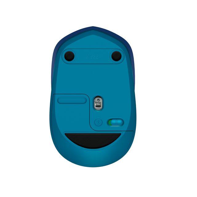 Bluetooth-Maus Logitech M535 im Hardwareschotten-Test Rückansicht