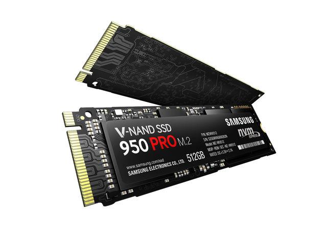 NVMe-M.2-SSD und PCI-Express 3.0: Die Samsung SSD 950 Pro