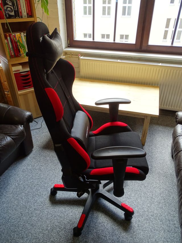 DX Racer Gaming Chair Test