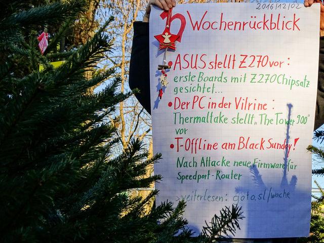 Wochenrückblick 02.12.2016