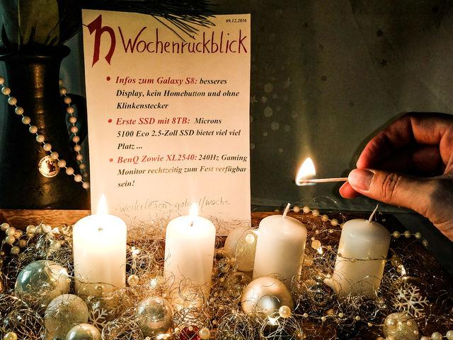 Wochenrückblick 09.12.2016