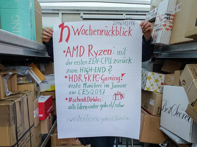 Wochenrückblick 16.12.2016