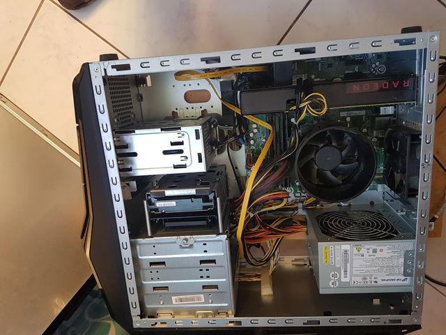 Nach dem Einbau der Radeon RX 480