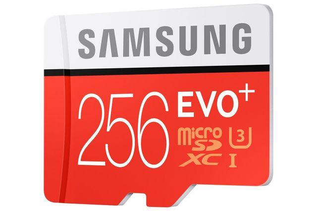 Samsung Evo Plus 256 GB microSD