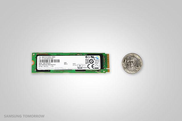 Samsung SM961 NVMe M.2-SSD: Bis zu 3200 MB/s