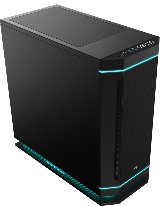 AeroCool DS 230 Black Edition: Schlichter, eleganter und leiser Midi-Tower