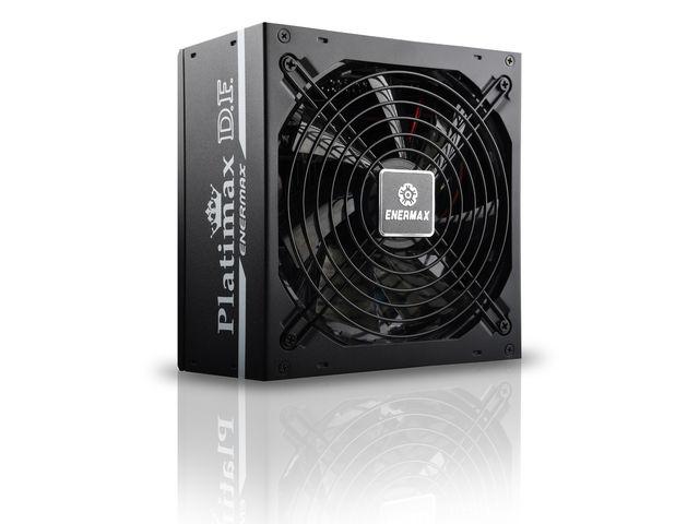 Enermax mit neuem 80Plus-Platinum-Netzteilen: Platimax D.F. 500 und 600 Watt