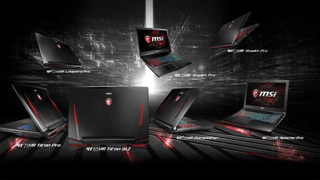 MSI präsentiert neue Gaming-Notebooks mit GTX-1000er-Serie