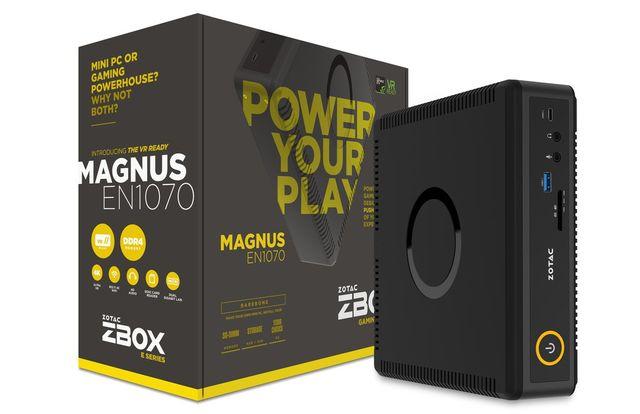 Zotac Magnus EN1070 und EN1060: schnelle Mini-PCs mit Skylake und Pascal