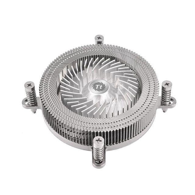 Thermaltake stellt den besonders flachen CPU-Kühler Engine 27 1U vor