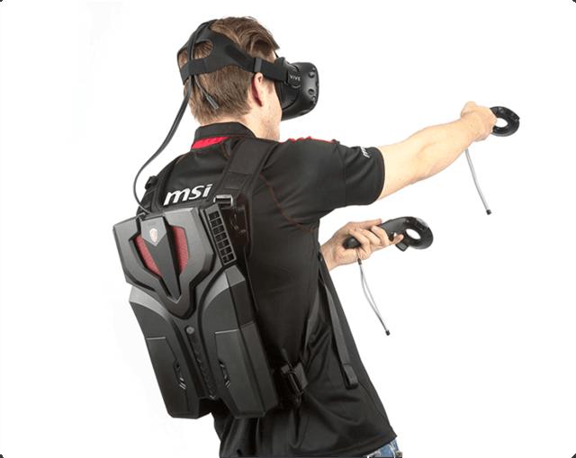 Erster VR Rucksack-PC: MSI VR One