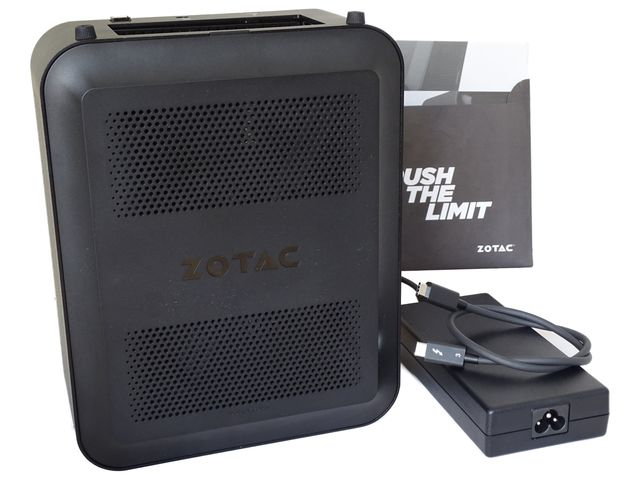 zotac AMP box mini what is in the box
